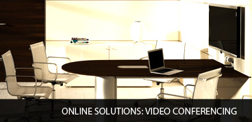 Online solutions: Video conferencing