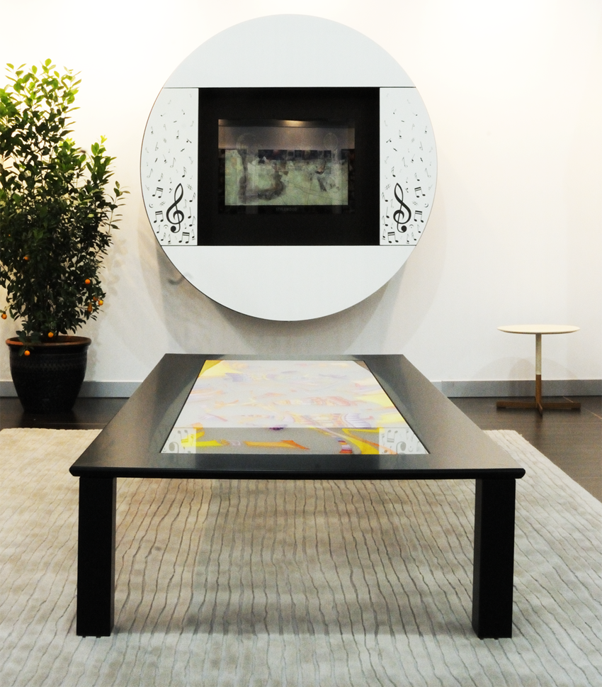 Coffee tables - Tables basses noires ...